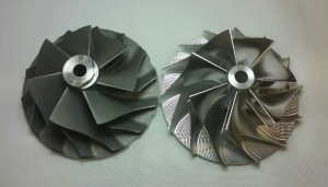 HX40 Billet Wheel vs Stock 60 x 86