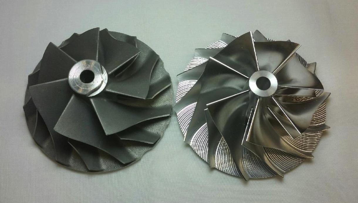 T67 Gt37r 7 Blade Billet Compressor Wheel