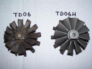 TDO6 turbine Wheel
