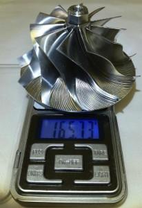 6.0 Powerstroke Billet Compressor Wheel