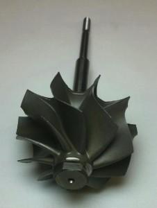 PTE 6262 turbine wheel