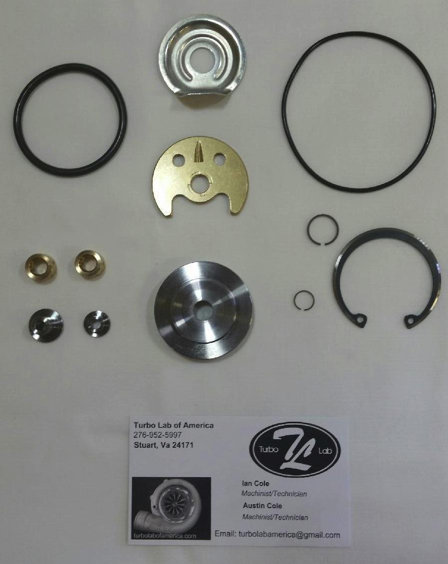 BMW N54 TD03 135i 335i 535i Turbo Rebuild Kit - Turbo Lab