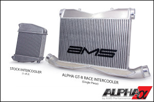 Alpha Peformance Race Front Mount Intercooler (Alpha Badge)
