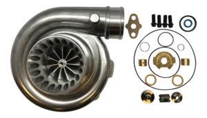 Turbo Lab America 99-03 7.3 Turbo Compressor Housing Billet Wheel and Rebuild Kit